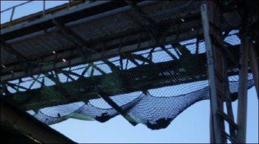 K Rocknet Debris Containment Nets Conveyor Systems