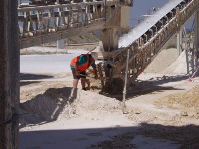 conveyor safety improvements
