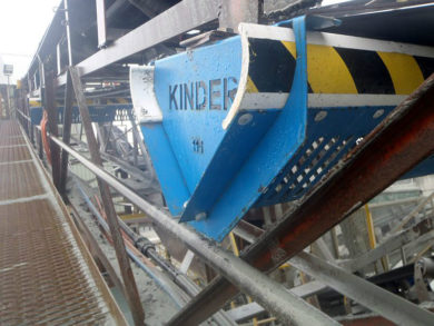 conveyor guard, K-Protector® Return Idler Guard