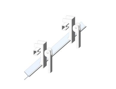 K-Quick Clamp Skirting System, clamp skirting