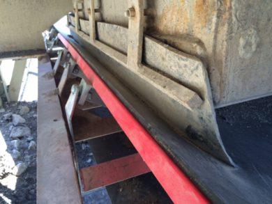 Impact Load Zone Belt Support, K-Sure® Belt Support System