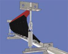 'H' Series Spring Tensioner, Primary Conveyor Belt Pre Cleaner