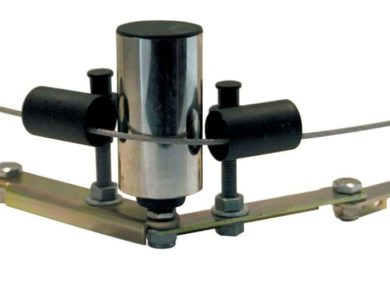 conveyor safety product, safe-t-curve pull wire corner bracket