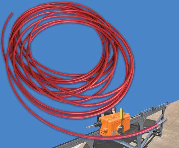 Safe-T-Lanyard Pull Wire Rope | Conveyor Safety Control - Kinder ...