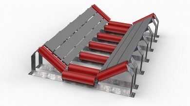 High Capacity Speed Conveyor Solutions , K-Sure Belt Support System KICOMP Bars