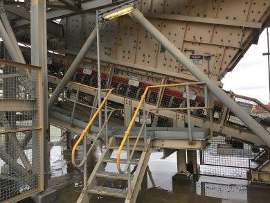 Conveyor Material Spillage Control